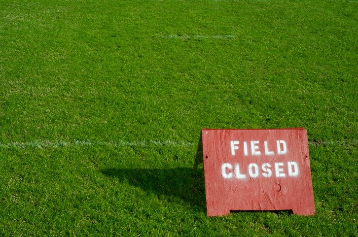 FIELDS CLOSED All fields at Doyalson are closed for training today